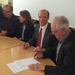 signature convention Plateforme services publics