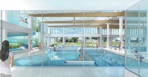 Centre aquatique : un chantier spectaculaire