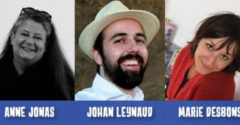 Rencontre publique avec 3 auteurs-illustrateurs