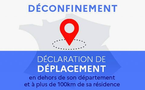 Attestations de déplacement plus de 100 km